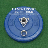 Element Commercial 55lbs Bumper Plate