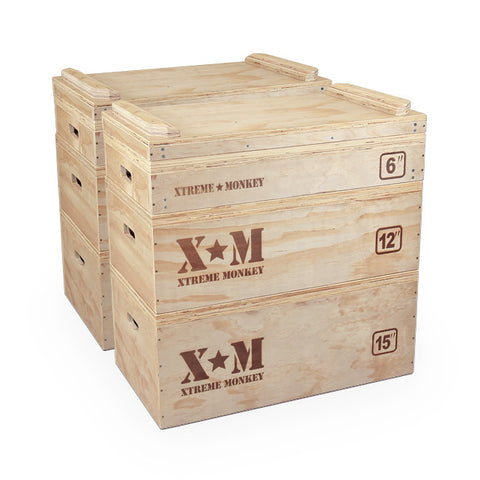 Xtreme Monkey Wood Jerk Blocks