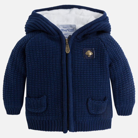 Mayoral - Cardigan Style Jacket in Cobalt