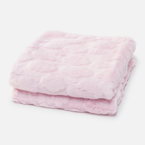 Mayoral - Faux Fur Baby Blanket in Baby Rose