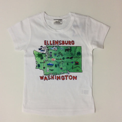 She's The One: Ellensburg T-shirt - Busy B Kids