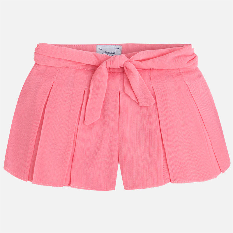 Mayoral: Girl's Pleated Shorts