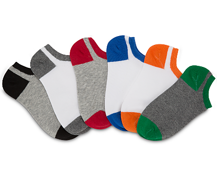 Stride Rite: No-Show Socks - Owen