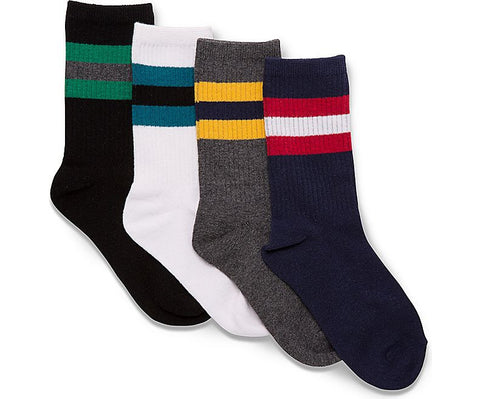 Stride Rite: Tube Socks - Black/Grey/White/Navy - Busy B Kids