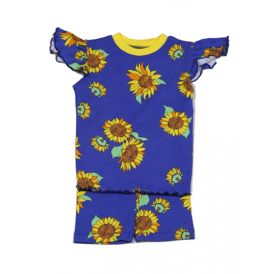 New Jammies: Organic Short Set - Sunflower - Busy B Kids