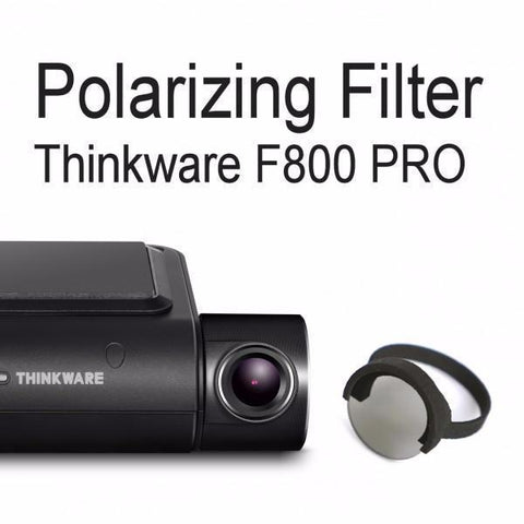 Thinkware F800/F800 Pro Front Slip-On Polarizing Filter