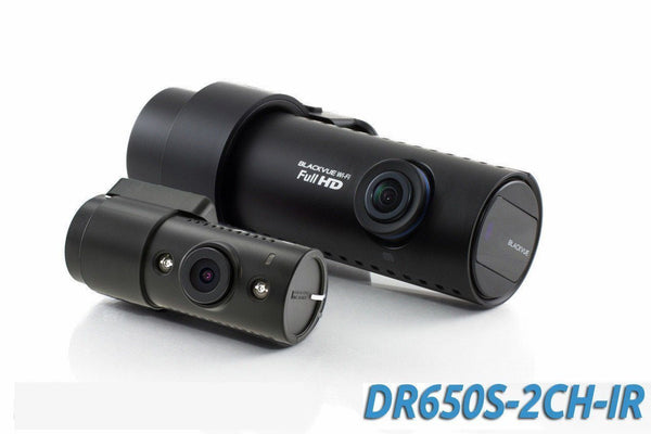 BlackVue DR650S-2CH-IR Full HD 1080p HD with Infrared Rear Camera, GPS & WiFi - Dash Cam - DashCam Bros - Dash Cam