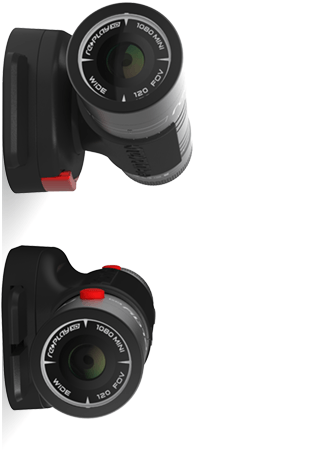 Replay XD 1080 Mini HD Camera Black 01-RPXD1080M-CS - Dash Cam - DashCam Bros - Dash Cam
