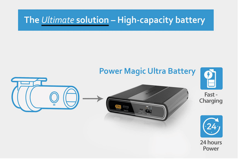BlackVue B-124 Power Magic Battery Pack - Accessories - DashCam Bros - Dash Cam