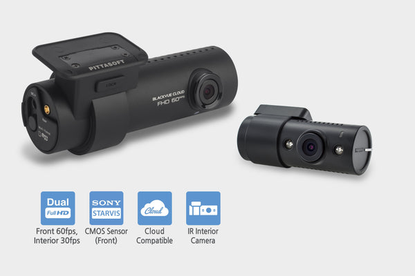BlackVue DR750S-2CH-IR with Infrared Rear Camera, GPS & WiFi