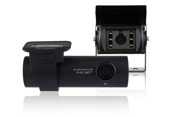BlackVue DR750S-2CH-Truck-IR with Externally Mounted Infrared Rear Camera, GPS & WiFi