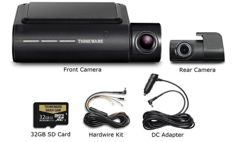 Thinkware F800 PRO 1080P Dash Cam with Cloud, WiFi, GPS