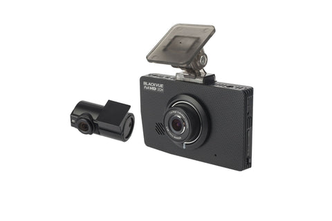 BlackVue DR490L-2CH Dual Lens Full HD 1080p HD Touchscreen Dash Cam with WiFi