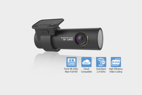 BlackVue DR900S-1CH Single Channel 4K GPS WiFi Cloud-Capable Dashcam - Dash Cam - DashCam Bros - Dash Cam