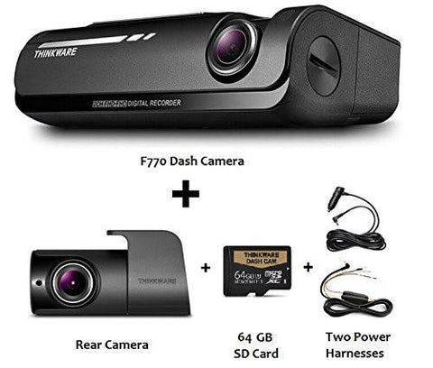 Thinkware F770 Dual Channel 1080p HD Dash Cam with WiFi, GPS and Night Vision - Dash Cam - DashCam Bros - Dash Cam