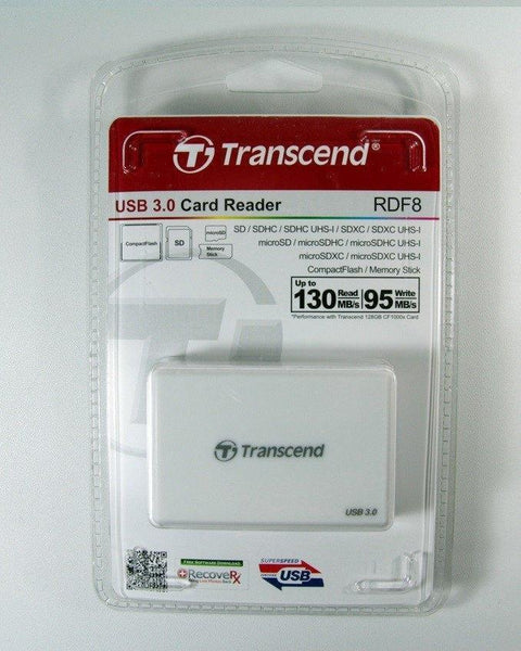 Transcend USB 3.0 Memory Card Reader