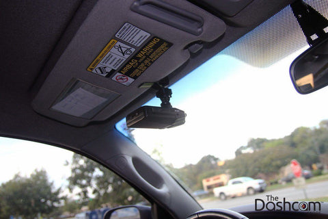 Visor Clip-On Mount - Threaded Sun Visor Mount for Dashcams - Accessories - DashCam Bros - Dash Cam
