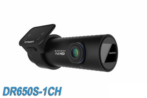 BlackVue DR650S-1CH 1080p HD Cloud-Capable Single-Lens Dash Camera With GPS & WiFi - Dash Cam - DashCam Bros - Dash Cam