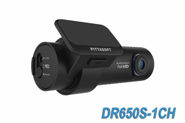 BlackVue DR650S-1CH 1080p HD Cloud-Capable Single-Lens Dash Camera With GPS & WiFi