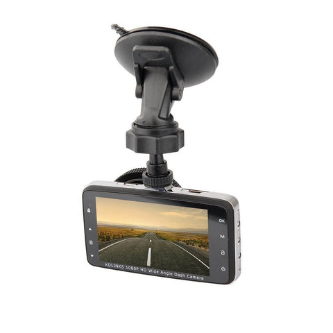 KDLINKS DX2 ULTRA HD 1080P 290° Super Wide Angle Car Dash Cam Dashcam front rear