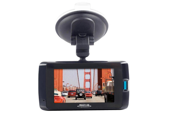 Magellan MiVue 480D Super HD Dual Lens GPS Dashcam for Front and Rear Recording