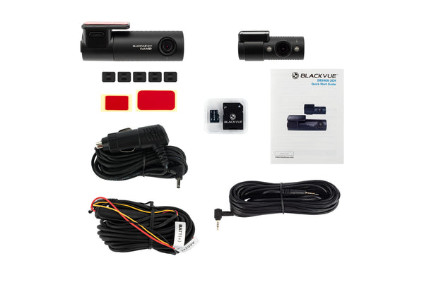 BlackVue DR590X-2CH-IR Dual-Lens with Interior Infrared 1080p with Wifi Dashcam