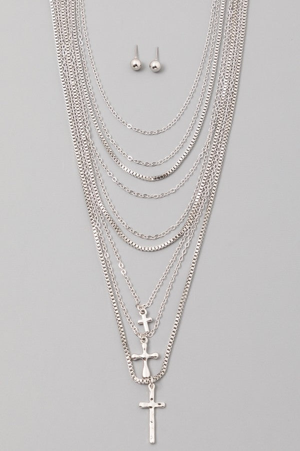 Cruces Layered Necklace