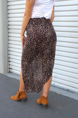 Leopard Babe Skirt-3 LEFT!