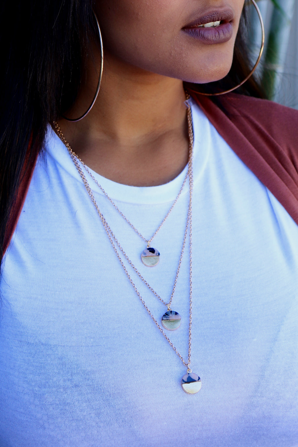 Tort Layered Necklace