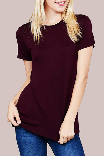 Plum Basic Bee Tee