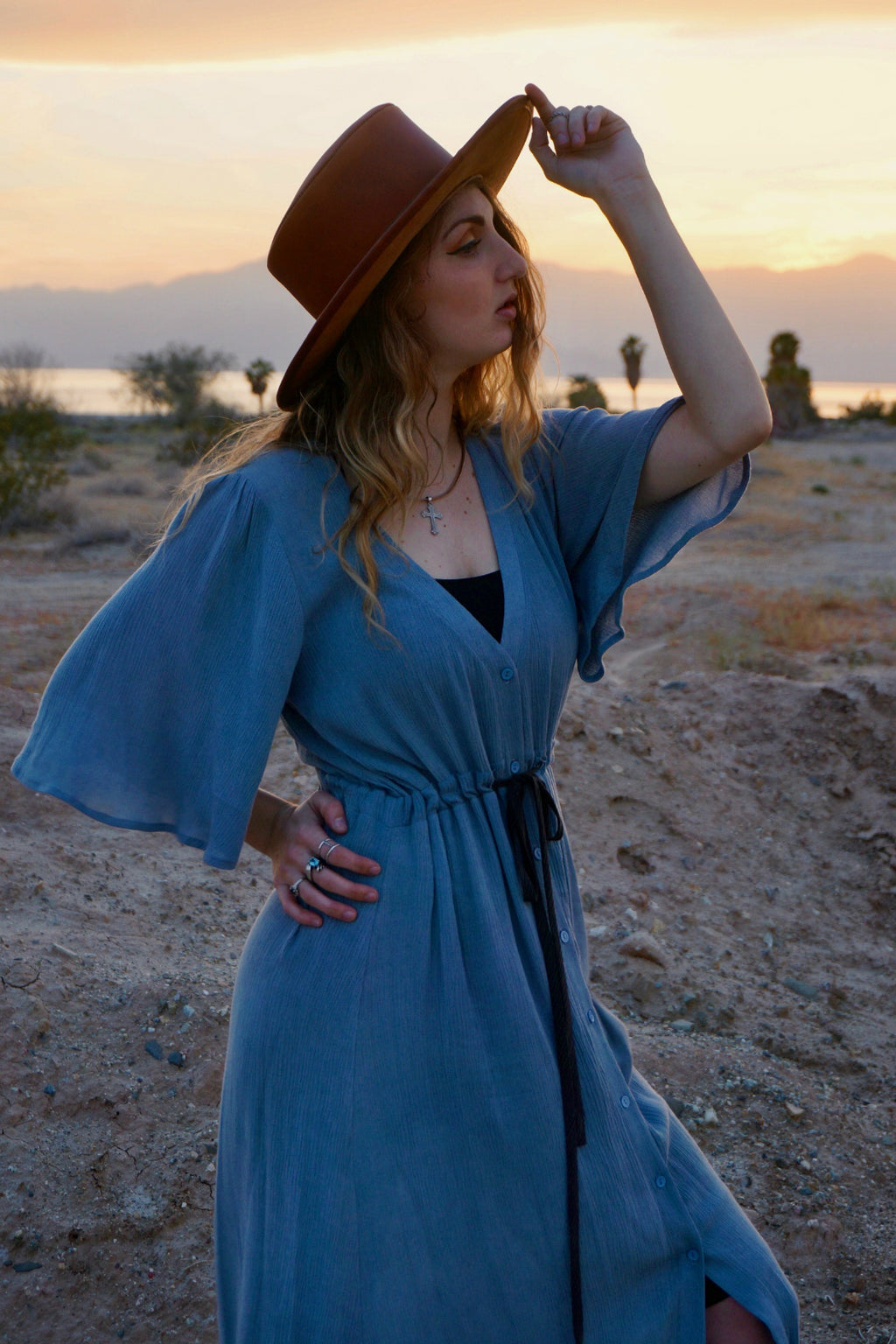 Dusty Skies Dress