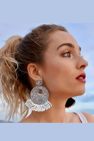Fyre Beaded Earrings