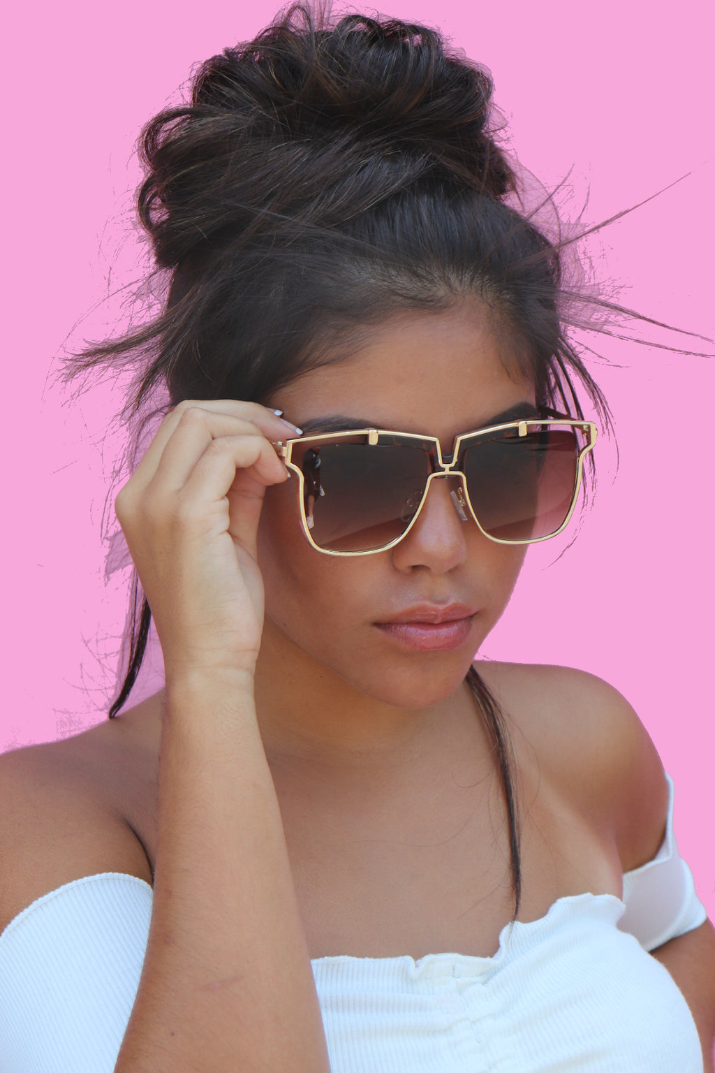 Brown Lala Sunglasses