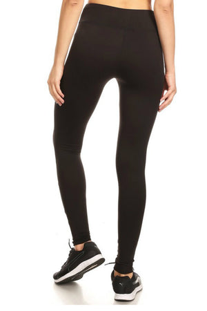 Mesh Panel Leggings-2 LEFT!
