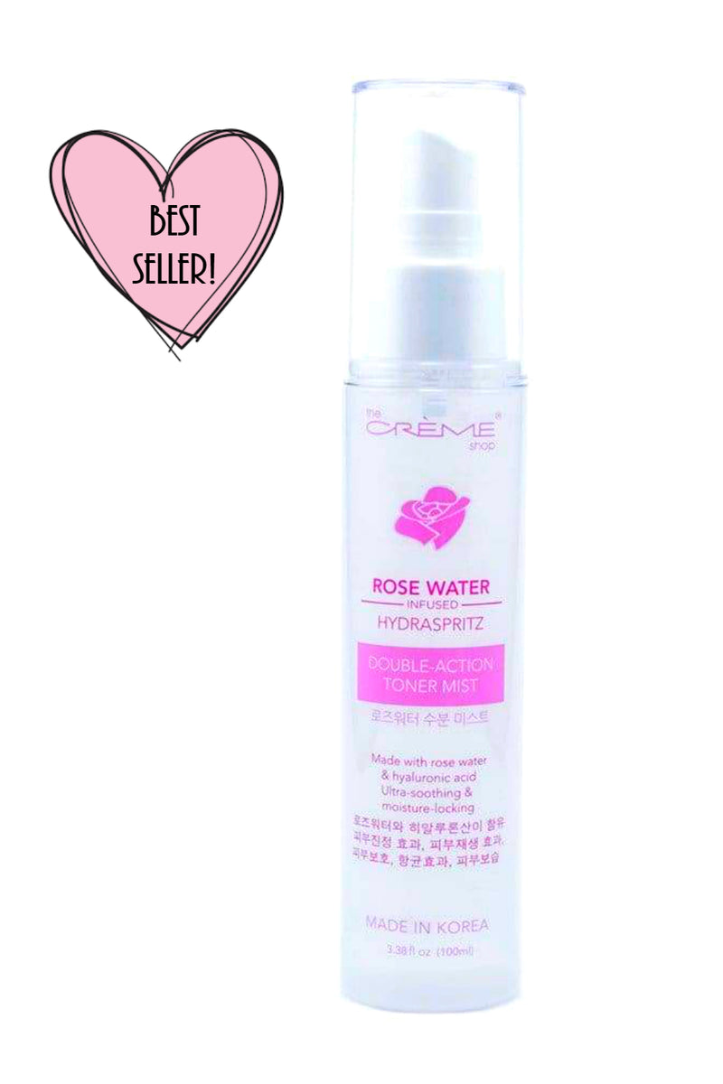 Rose Water Double-Action Toner Mist Infused Hydraspritz