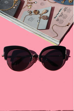 Black Kitty Sunglasses