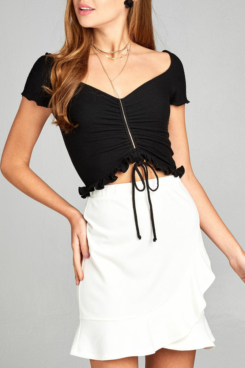 Cropped Shring Top-1 LEFT!