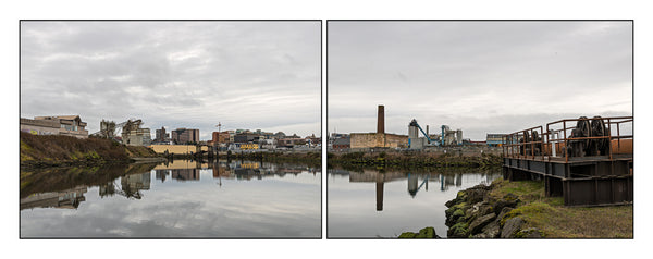 Rock Bay Waterfront Diptych