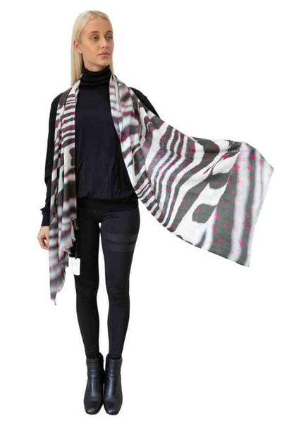 Zenis Wool Silk Scarf- Out of Stock