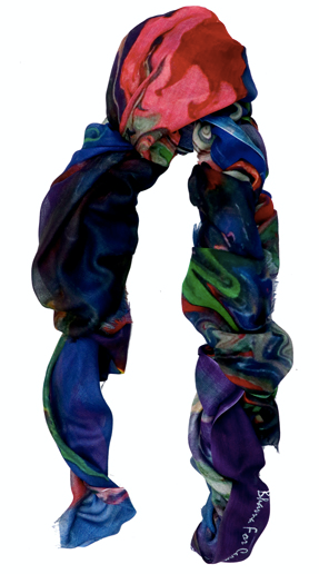 Dream In Color Painting Modal Scarf