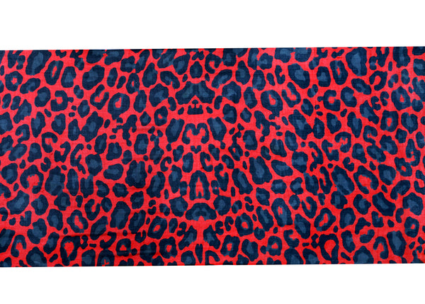 Alexa Leopard Red Scarf- Out of Stock