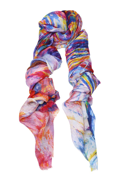 Colourburst Silk Scarf