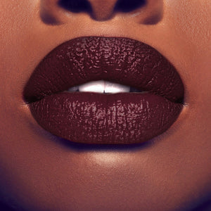 Gold Label Cosmetics Luxury Lipstick In Thanks On Model