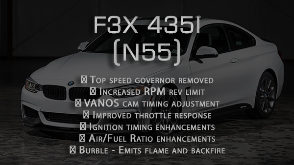 Performance tune for F3x 4 series 435 (2014-2017)