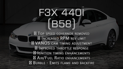 Performance tune for F3x 440 (2015-2018)