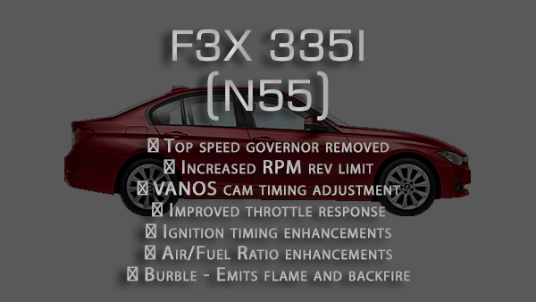 Performance tune for F3x 335 (2011-2015)