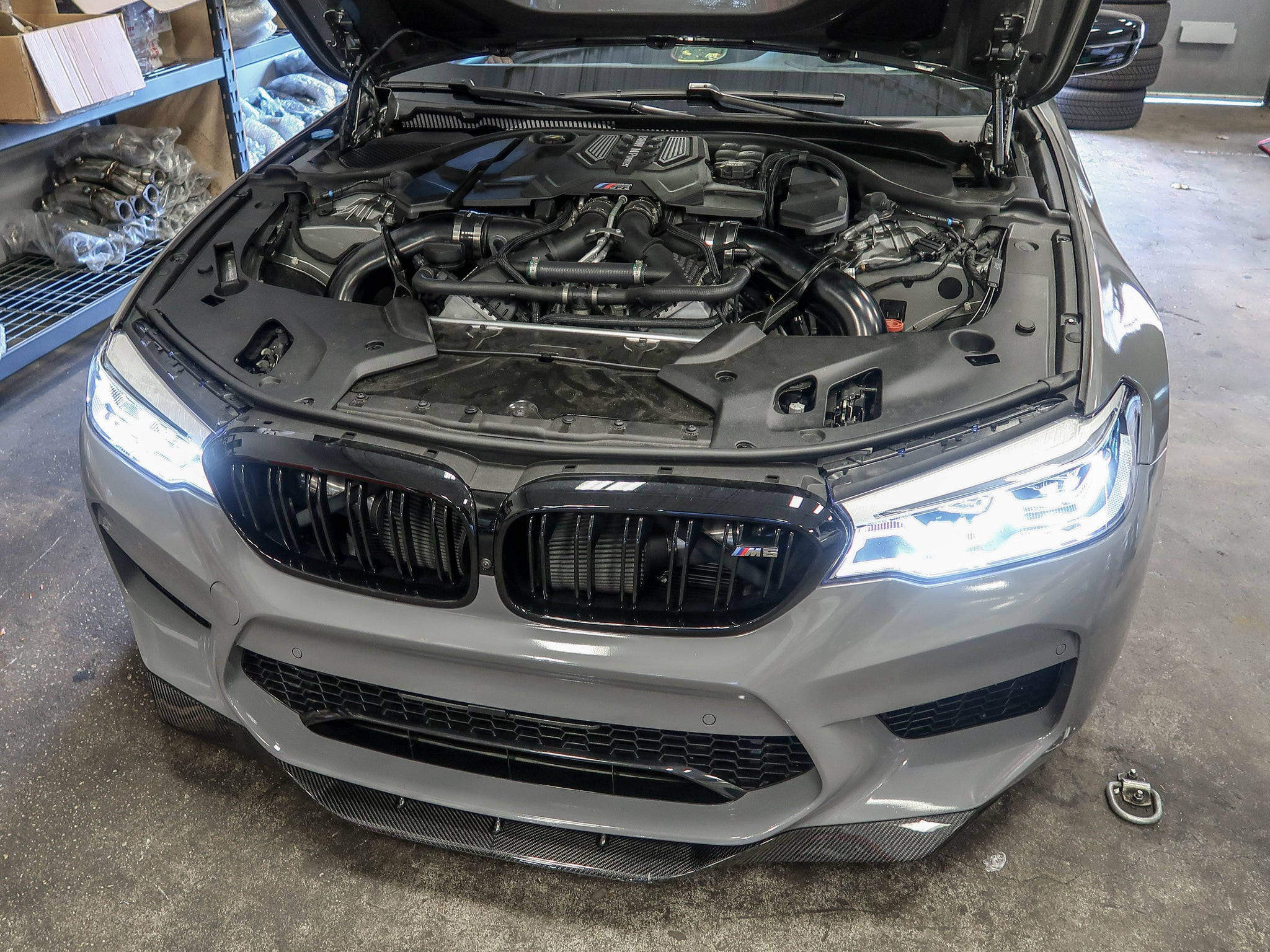 F90 M5 Front Mount Intakes