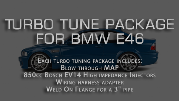 Turbo tune package for BMW E46 - 3 Series - (1999-2006)