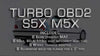 Performance tune for turbo OBD2 S5x M5x