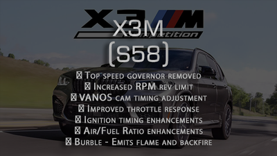 Performance tune for X3M 2019+